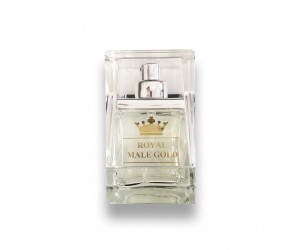 fragrance male gold glass